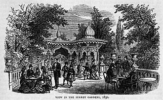 Royal Surrey Gardens - Surrey Gardens in 1850
