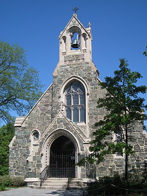 Church of the New Jerusalem (Cambridge, Massachusetts) - Image: Swedenborg Chapel, Cambridge, MA