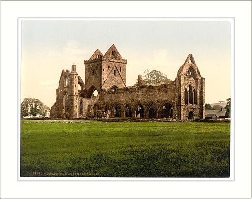 Sweetheart Abbey Dumfries Scotland