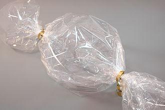 Plastic film - Confectionery packaging made of PLA-blend bio-flex bioplastic