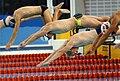 Swimming start, 1992 Paralympics.jpg