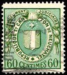 Switzerland Neuchâtel 1925 revenue 5 60c - 28C.jpg
