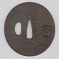 Sword Guard (Tsuba) MET 19.154.36 002feb2014.jpg