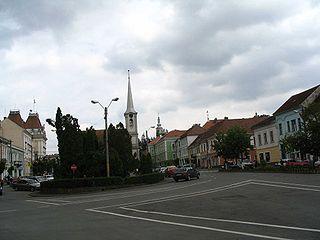 Odorheiu Secuiesc Municipality in Harghita, Romania