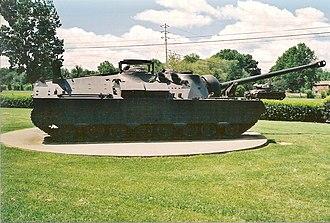 T28 Super Heavy Tank - Side view