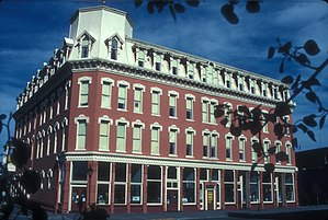 Baby Doe Tabor - Horace Tabor built the Tabor Grand Hotel in Leadville, shown here in a modern photograph.
