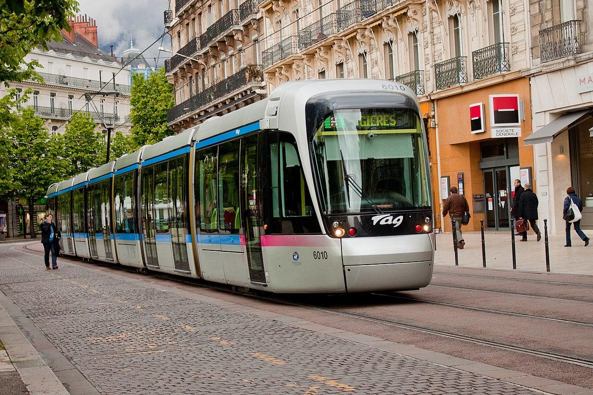 Ligne b du tramway de grenoble wikip dia for La b b