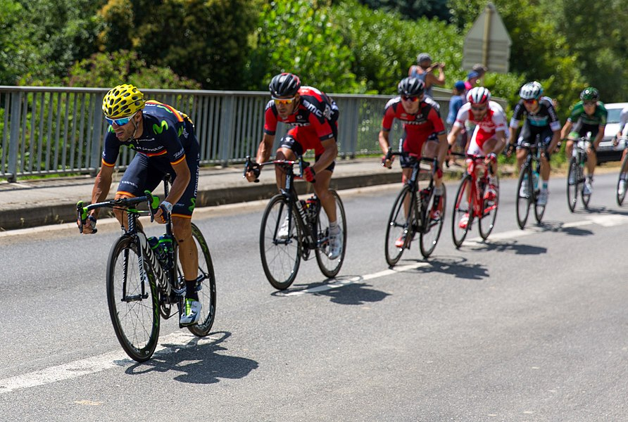 Alejandro Valverde (MOV) during stage 13.