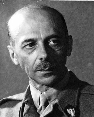 Warsaw Uprising - Commander Tadeusz Bór-Komorowski of the Polish Home Army.