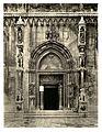 Tafel 095b Sebenico - Dom, Seitenportal - Heliografie Kowalczyk 1909.jpg