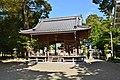 Takebe-jinja (Higashiomi), haiden.jpg
