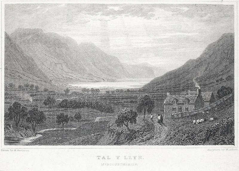 File:Tal y Llyn, Merionethshire.jpeg