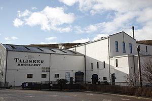 Talisker distillery - Image: Talisker distillery 100212