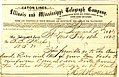 Telegram from H.W. Halleck, St. Louis, to (Seth Ledyard) Phelps, February 13, 1862.jpg