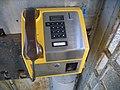 Telephone apparatus at Gill Pier telephone box - geograph.org.uk - 953624.jpg