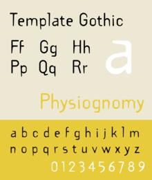 template gothic wikipedia