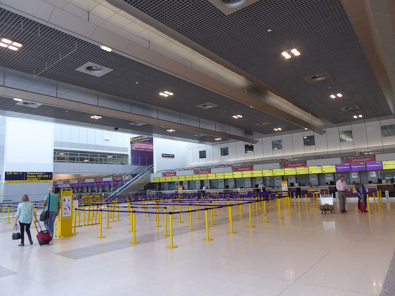 File:Terminal 2, Manchester Airport, June 2016 (01).JPG ...