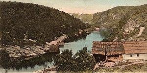 Teteriv River - Teteriv River by Zhytomyr ca 1905.