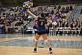 Texas Woman's vs. Texas A&M–Commerce volleyball 2015 09.jpg