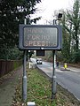 Thank you for not speeding sign - geograph.org.uk - 1120905.jpg