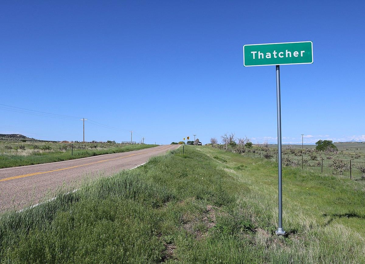 Thatcher, Colorado - W...