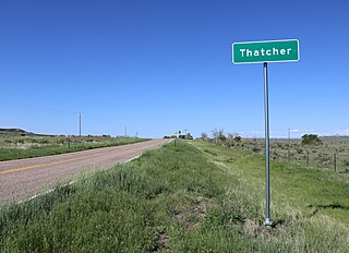 Thatcher, Colorado Unincorporated community in Colorado, United States
