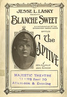 <i>The Captive</i> (1915 film) 1915 film