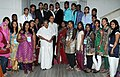 The 32nd Indian Diaspora participants of 20th Know India Programme from 12 countries called on the Union Minister for Overseas Indian Affairs, Shri Vayalar Ravi, in New Delhi on May 03, 2012.jpg