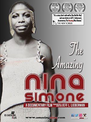 The Amazing Nina Simone (documentary film) - Digital release poster
