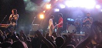 Arkells - Arkells performing at the Burlington Sound of Music Festival, June 2010
