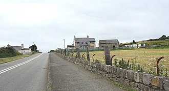 Brynteg, Anglesey - The B5108 on the southern outskirts of Brynteg, Anglesey