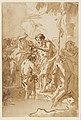 The Baptism of Christ (with Christ Standing at Left Center, His Back Turned, and a Youth Stripping in the Right Foreground) MET DP-13665-028.jpg