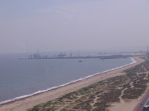 Great Yarmouth Outer Harbour - Image: The Big Wheel at Great Yarmouth 25,07,2008 (5)