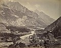 The Buspa Valley from Sungla by Samuel Bourne 1865.jpg