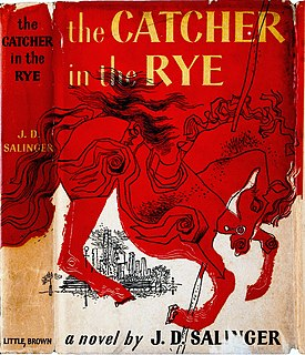 <i>The Catcher in the Rye</i> novel by J. D. Salinger