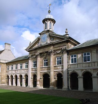 Norman Birkett, 1st Baron Birkett - The chapel at Emmanuel College, Cambridge, where Birkett studied between 1907 and 1910.