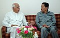 The Chief Minister of Sikkim, Shri Pawan Kumar Chamling calls on the Union Minister of New and Renewable Energy, Dr. Farooq Abdullah, in New Delhi on June 17, 2009.jpg