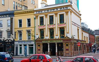 Belfast City Centre - The Crown Liquor Saloon