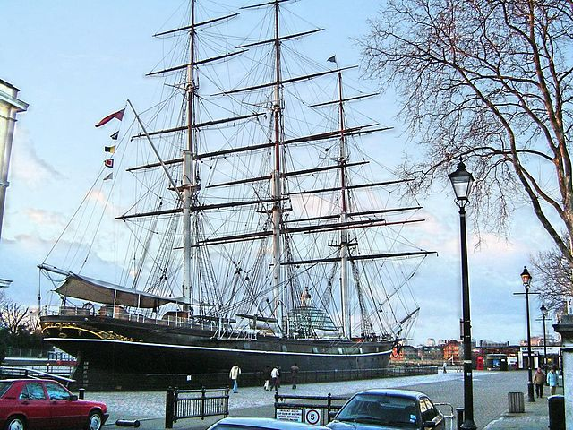 File:The Cutty Sark 2005-01-24.jpg - Wikimedia Commons