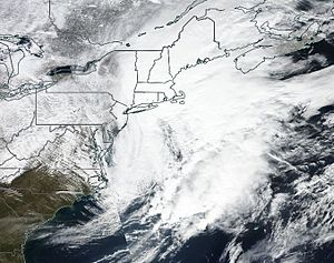 February 2017 North American blizzard - Image: The February 2017 United States blizzard 09 02 17