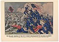 The Gallant Charge of the Fifty-Fourth Massachusetts Colored Regiment (1863), Currier and Ives.jpg