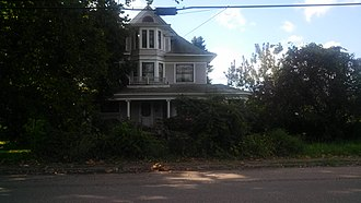 National Register of Historic Places listings in Mason County, West Virginia - Image: The Gold Houses 2013 09 01 16 57 44