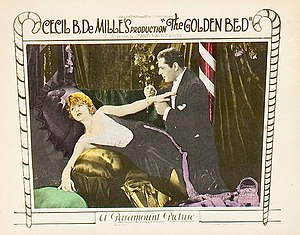 The Golden Bed - Lobby card for the film
