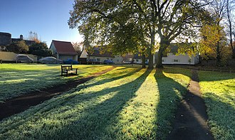 Duxford - Image: The Green, Duxford, Cambridgeshire