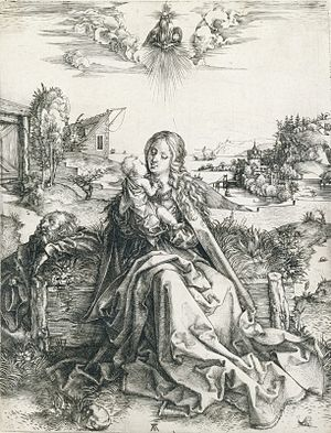 The Holy Family with the Dragonfly - Image: The Holy Family with the Dragonfly by Albrecht Durer