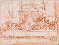 The Last Supper, after Leonardo da Vinci by Rembrandt 01.jpg