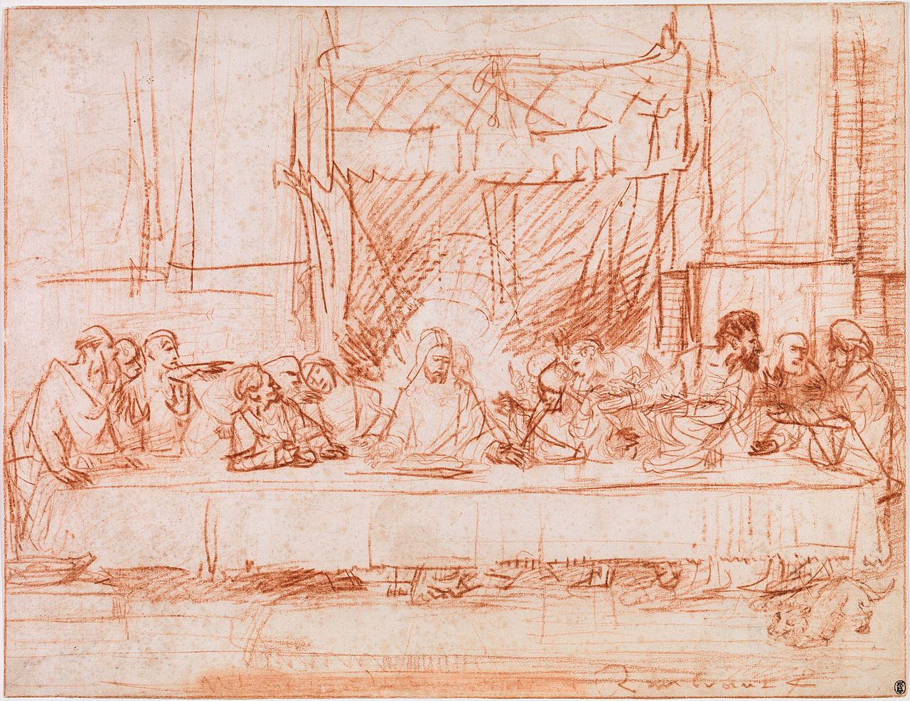 the last supper by leonardo da vinci 2 essay The last supper is a late 15th-century mural painting by leonardo da vinci  housed by the  during world war ii, on august 15, 1943, the refectory was  struck by allied bombing protective sandbagging prevented the painting from  being struck.