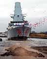 The Launch of Type 45 Destroyer HMS Dragon MOD 45149874.jpg