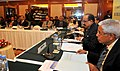 The Minister of State (Independent Charge) for Consumer Affairs, Food and Public Distribution, Professor K.V. Thomas presides over the board meeting of Bureau of Indian Standards, in New Delhi on January 17, 2012 (1).jpg