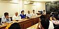 The Minister of State for Housing and Urban Affairs (IC), Shri Hardeep Singh Puri addressing the media on Delhi Master Plan developments, in New Delhi (1).JPG